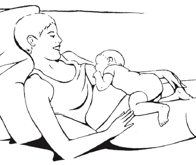 LLL laid back breastfeeding biological nuturing goals pic